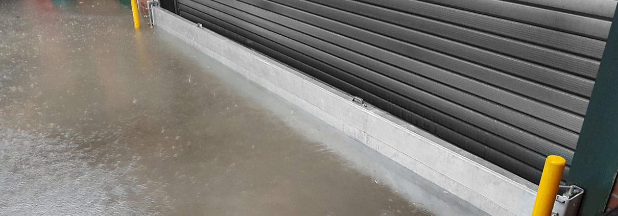 Überschwemmung durch Starkregen in Langenfeld 2017